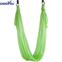 Factory Sales High Strength Anti Gravity Yoga 20 Colors Professional Aerial Yoga Hammock High Quality Nylon Yoga Swing