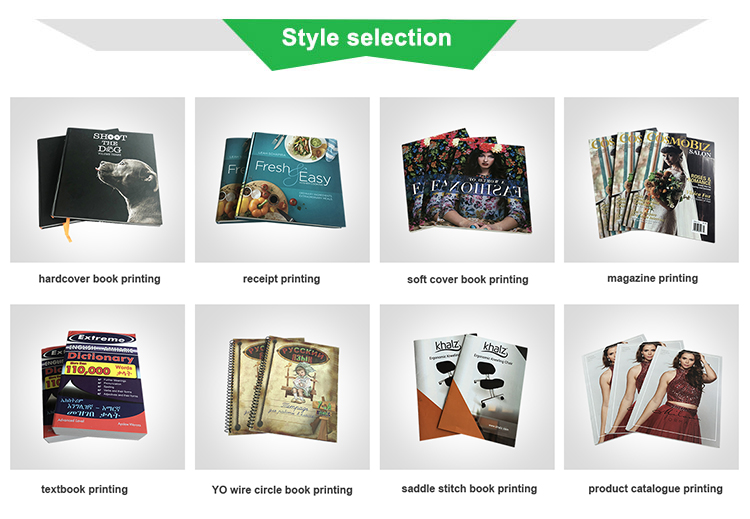 Huacang Factory Produced Low Cost  magazine printing price