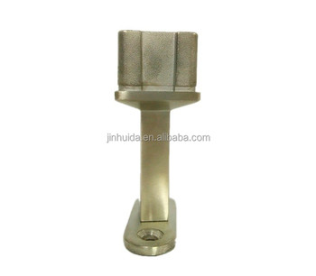 Hanging Pipe Clamps Stainless Steel Pipe Supports And Hangers Adjustable  Square Tube Bracket Satin Finished - Buy Exhaust Pipe Connector,Pipe  Fittings