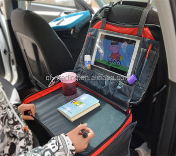 Kids Travel Play Tray Bag Childrens Car Seat Lap Tray