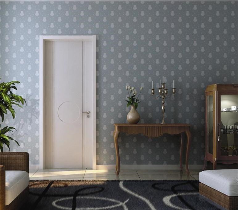White wooden curved flush interior door wood flush door for Flush interior wood doors