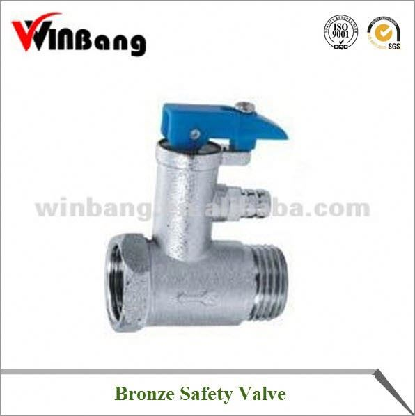 Bronze Safety Valve For Water Heater WB-G56