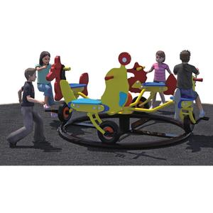 Amusement Park and Preschool Kids Outdoor Play Sets Playground Equipment