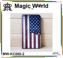 HOT Seller USA UK Country Flag Print Leather Wallet Phone Cases