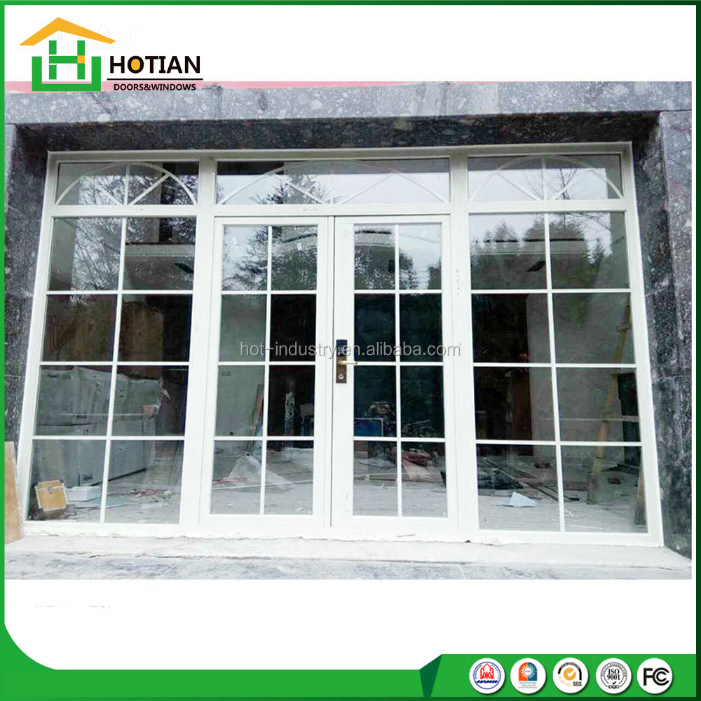 Readymade Upvc Patio Swing Type Exterior Cheap Double Entrance Modern Front Doors