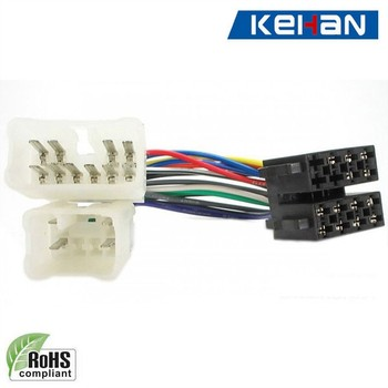oem/odm custom iso9001auto car stereo wire harness,high quality car stereo  wiring harness
