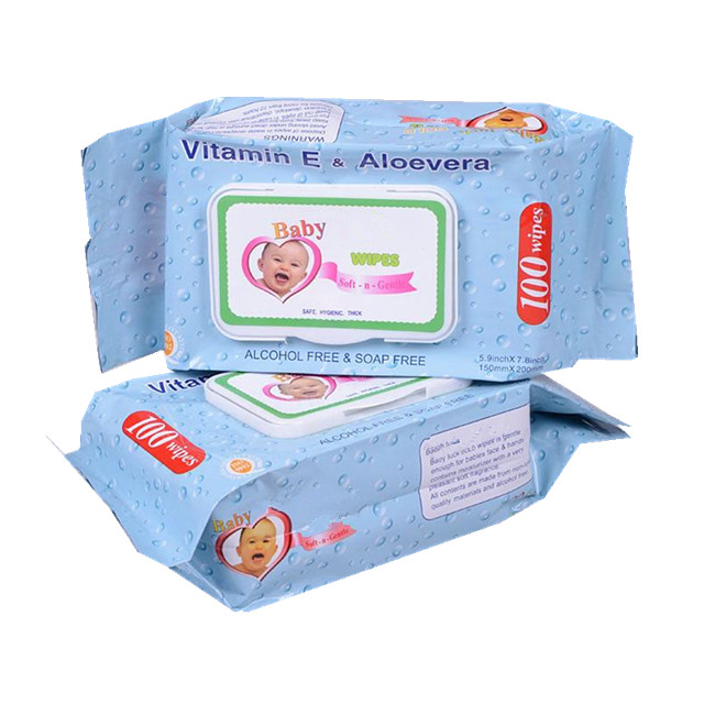 OEM Welcome Wholesale Hand Cleaning Baby Wet Wipes with Aloe Vero