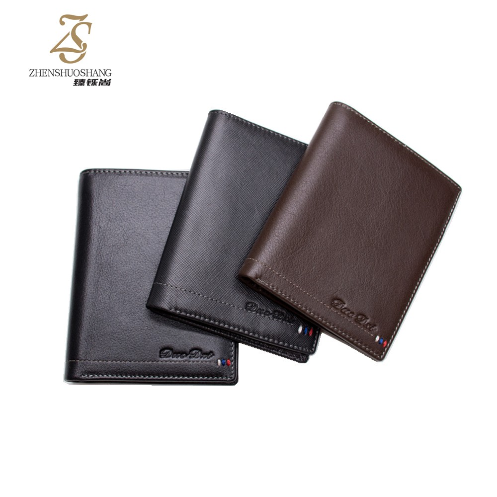 Hot Selling Fashion Bifold Mens Wallet Leather