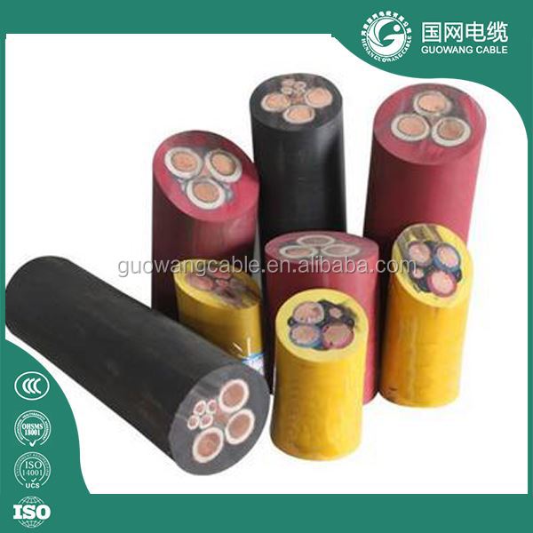 best selling bs vde rubber cable price/submersible rubber cable
