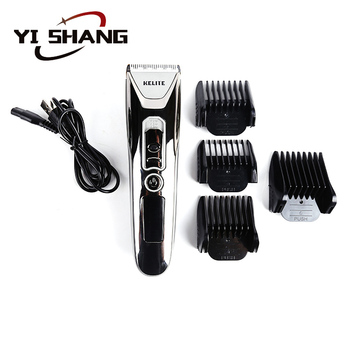 Professional rechargeable electric hair clipper trimmer cordless best hair clippers for men and kids harmless