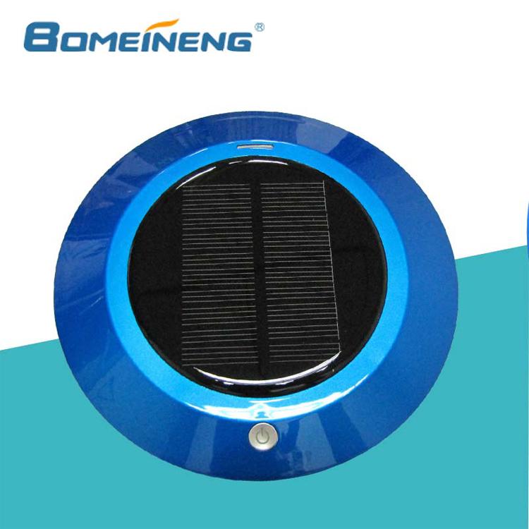 Bmn909-4 Blue Solar Power Car Air Purifier Ozone Generator ...