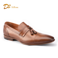 Leather dress shoes summer tassels men dress shoes leather fashion from deshi