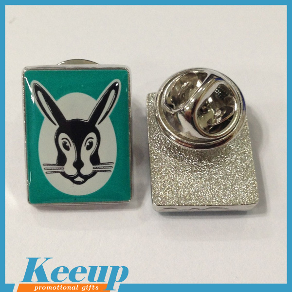 Promotional Cheap Rabbit Figure Metal Lapel Pins Badges With ...