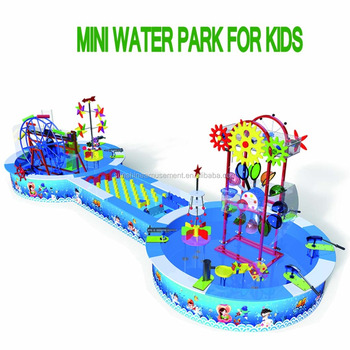 2017 Hot Sale Mini Water Park Amusement Equipment
