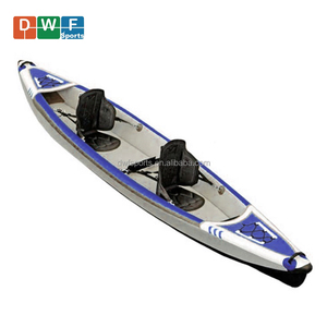 Inflatable Drop Stitch Kayak single or double seats inflatable folding kayak 2 persons