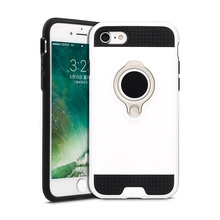 2018 Newest Hot Sell TPU+PC 2in1 Anti-shock Back Cover Mobile Phone Case For iphone 7 Plus