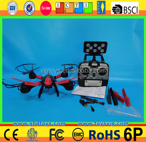 Hot sale Market Top Selling ! Sky Hawkeye 1315W 2.4GHz 4CH 6-Axis Wi-Fi Real Time Transmission Remote Control Quadcopter