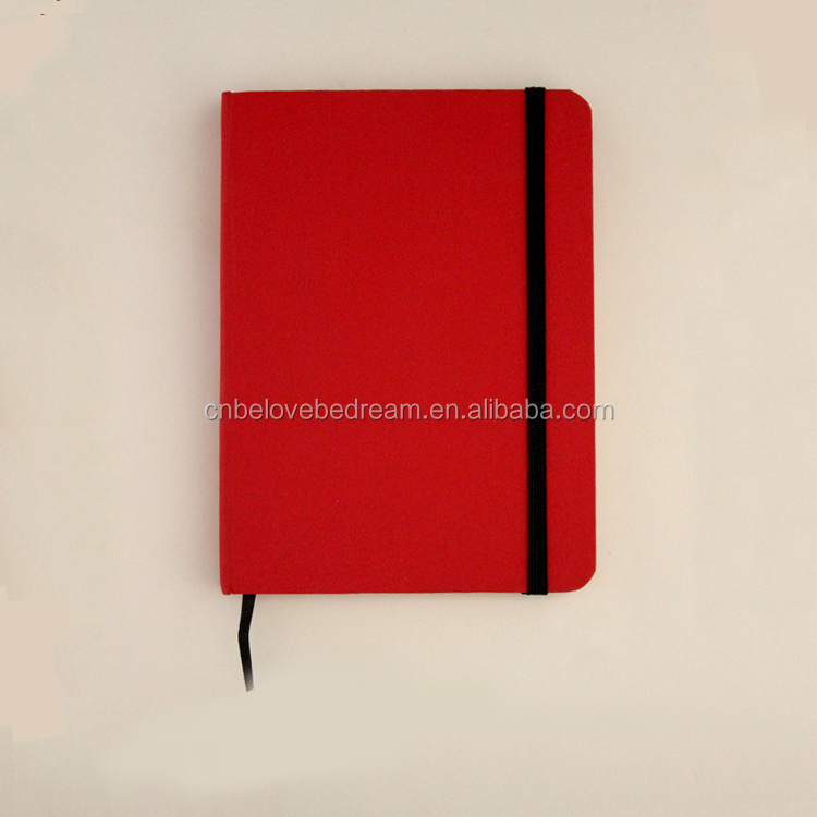 Custom Fancy Business Paperback Notebook Diary