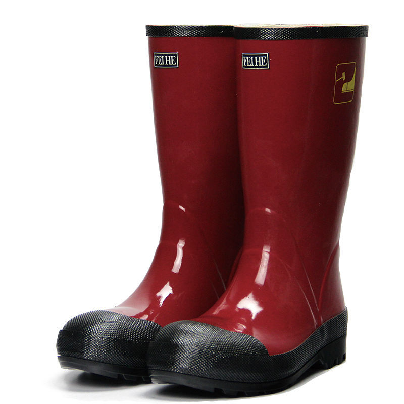 Cheap Rubber Boots Industrial Safety Boots Mining Boots With Steel ...