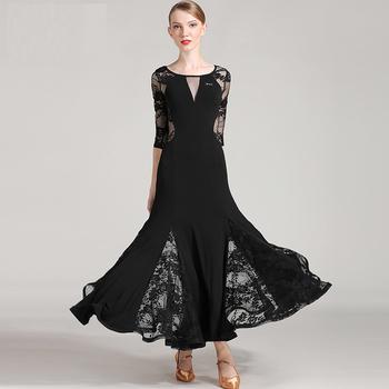 Free Shipping High Quality Women Girls Sexy Elegent Evening Dress Standard  Ballroom Dance 6c2b402b7524