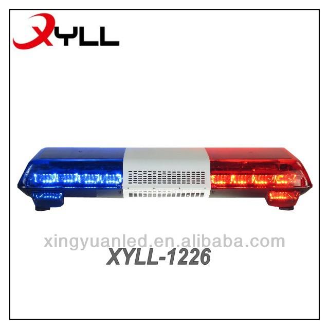 China Factory Stock Led Light Bar Police Car Light Red Blue Strobe ...