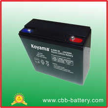 12V 20Ah E-bike/Scooter/E-Moto AGM Lead Acid Battery 6-DZM-20 good quality best battery