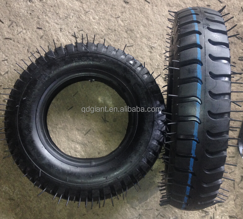 3.50-8 tire and wheel for wheelbarrow