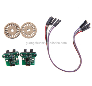 Universal RC Car Part Speed Measuring Module Encoding Disk Set for Smart Car Chassis