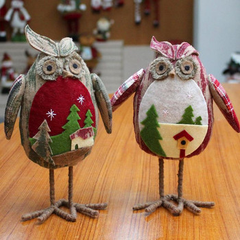 Owl Toy Christmas Toys Christmas Decorations For Home Tree Ornaments Kids Gifts Large Table Dolls New Year Decor