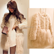 YR131 Factory Direct Sale Fur Coat Kalgan Lamb &Tibet Lamb Fur Jacket