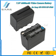 7.2V 6600mAh for Sony Video Camera Battery NP-F970 NP-F960