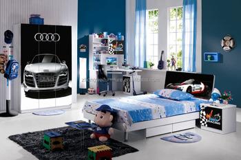 Star kids autos autos ontwerp bed slaapkamer meubilair voor