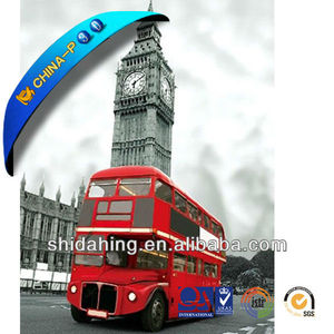 Classic Amazing 3d picture of Big Ben clock 3D art the Tower of London