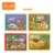 Animals drawing book set printed promotion toys magic water drawing book