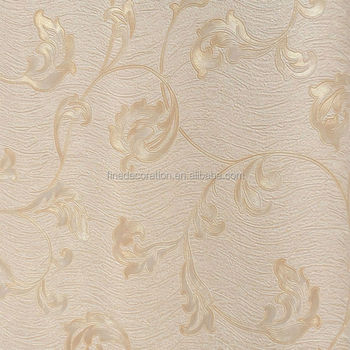 Chinese Hand Painted Silk Wallpaper Character Flower
