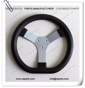 Most Popular Karting racing parts 320mm 3 hole-A steering wheel for sale