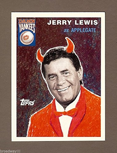 "Jerry Lewis ""DAMN YANKEES"" as ""The Devil"" 1995 Topps Collector's Baseball Card"