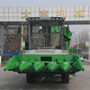 China made manufacturer Gold Dafeng 5 rows mini corn combine harvester