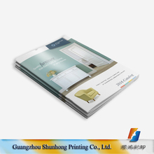 A4 size art paper full color brochure/catalogue printing services