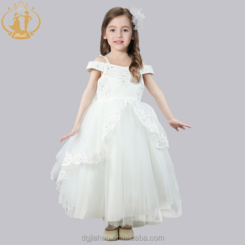 Latest Design High Quality Girls Prom Dress Kids Party Wear Western ...