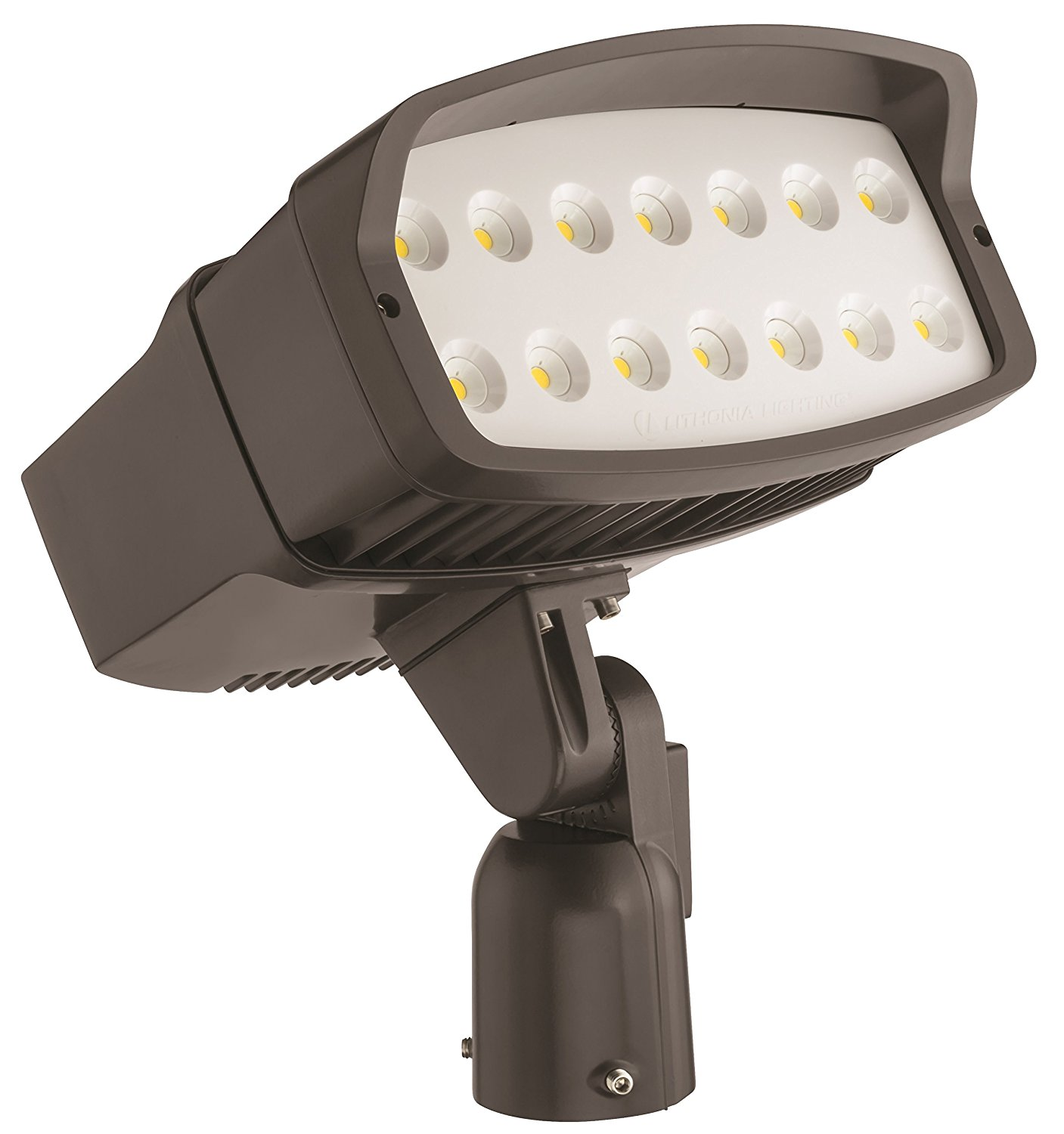 Lithonia Lighting OFL2 LED P2 50K MVOLT IS DDBXD M2 5000K Color Temperature LED Size 2 Floodlight with P2 Performance Package - Slipfitter Mount