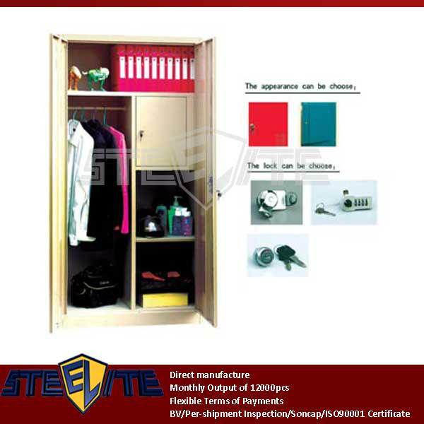 2 Door Cupboard Inside Designs 2 door beige steel bedroom cupboard, 2 door beige steel bedroom