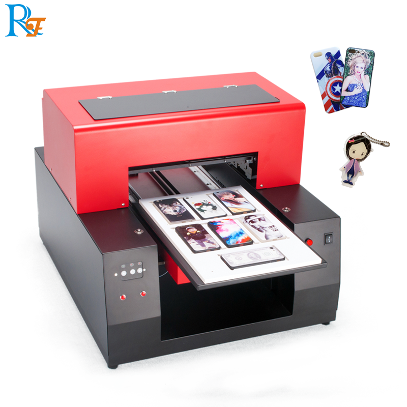 A3 uv printer machine crystal ornament a4 dtg printer telefoon geval uv printer