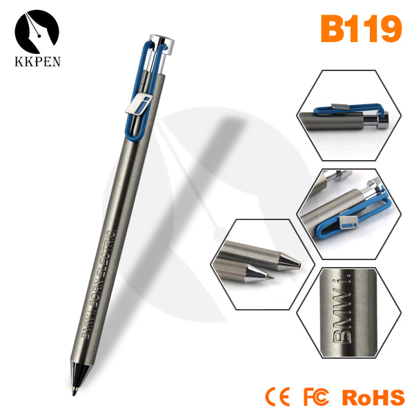 KKPEN Press and auto fasion design office supply/press pens/hotel metal pen