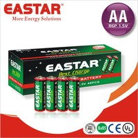 Carbon Zinc Dry Battery aa size r6 1.5v battery