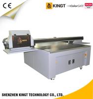 High quality print KGT-LE1610 Ricoh Gen5 Digital uv flatbed printer price for printing pvc, id card ,phone case, glass,metal
