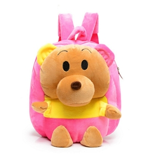 Factory Wholesale Plush Animal Backpack Soft Bear Plush Backpack for Kids
