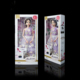 Exquisite Barbie Dolls toy cardboard paper packaging boxes with clear window