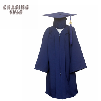 Navy Blue Graduation Cap Gown In Child - Buy Children\'s Graduation ...