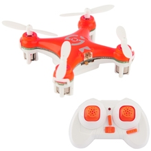 CX-10 4 Channel 2.4 GHz 6-Sumbu Gyro Mini Quadcopter RC Helicopter dengan <span class=keywords><strong>Pemancar</strong></span>, cocok untuk Di Atas Usia 14